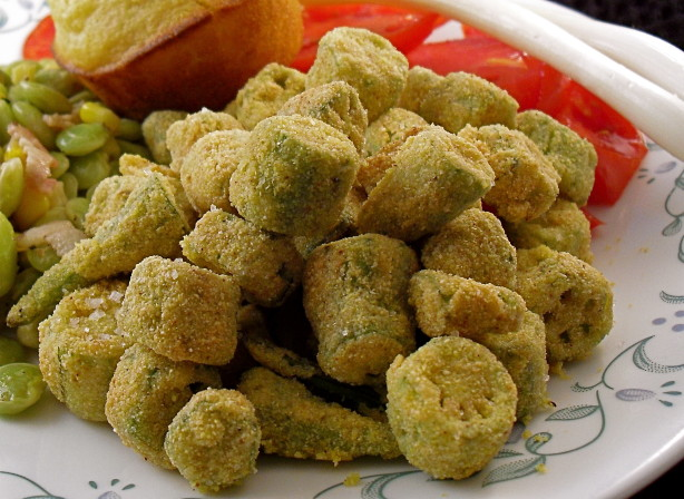 Authentic Southern Fried Okra Recipe - Food.com