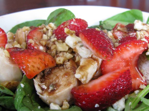 Chicken And Strawberry-Spinach Salad Recipe - Food.com