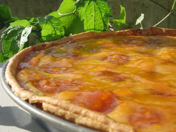 Tarte Aux Abricots - Glazed French Apricot Tart With ...