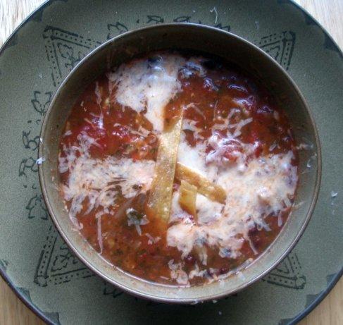 Vegetarian Tortilla Soup Recipe - Food.com