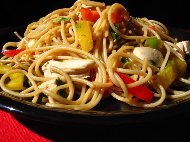 asian sesame chicken noodle salad steamy kitchen asian chicken noodle ...