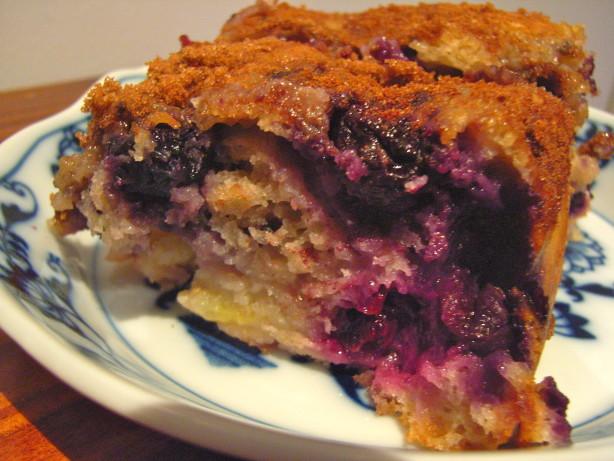 Taste Of Home Overnight Blueberry Coffee Cake