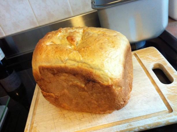 recipes for bread machine white bread
