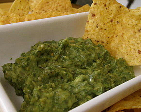 Roasted Tomatillo Guacamole Recipe - Food.com