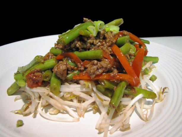 Beef And Green Bean Stir-Fry Recipe - Food.com