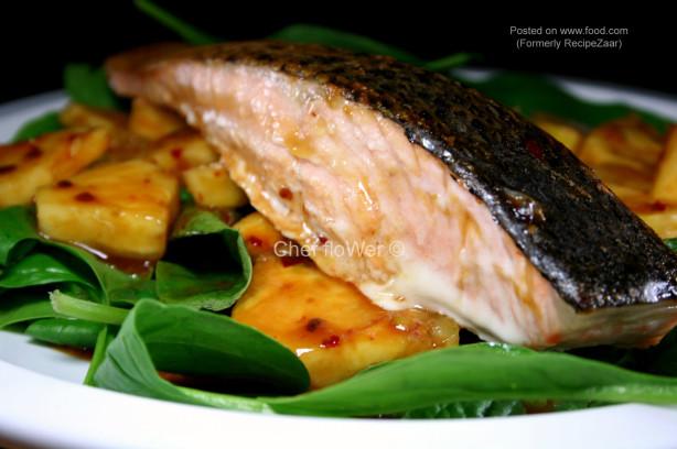 Jamikas Salmon With Pineapple Salsa Recipe - Food.com