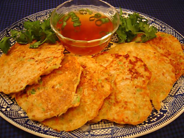 Okonomi Yaki Veggie Pancakes Recipe Food Com