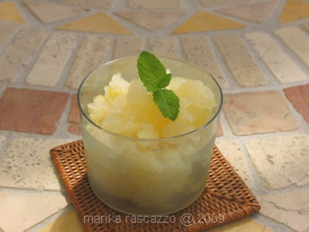Italian Granita Lemon Ice Cream Recipe - Food.com