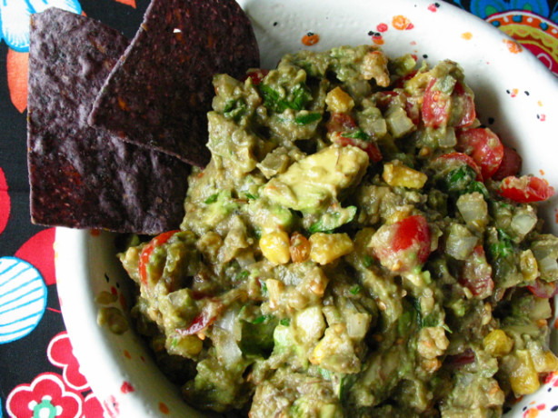 Roasted Corn Guacamole Dip Recipe - Food.com