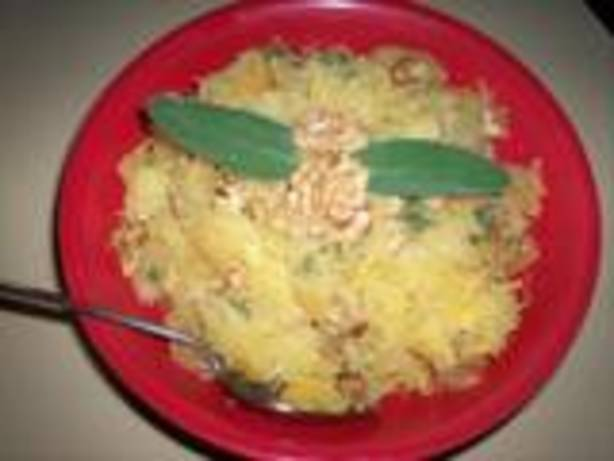 Spaghetti Squash With Sage And Walnuts Recipe - Food.com