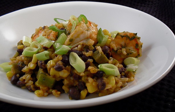 Shrimp With Black Beans, Okra And Fresh Corn Recipe - Food.com