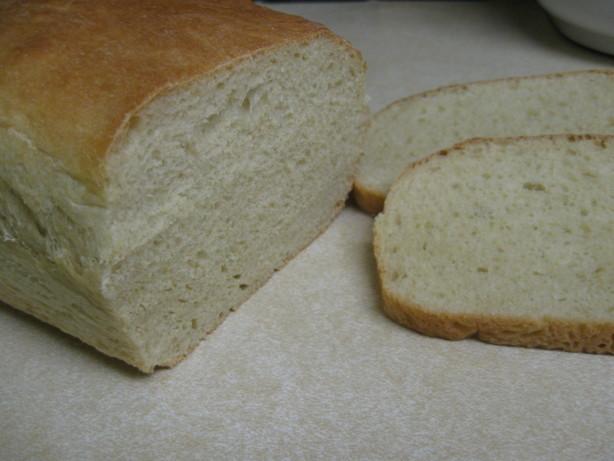 white bread bread machine recipe