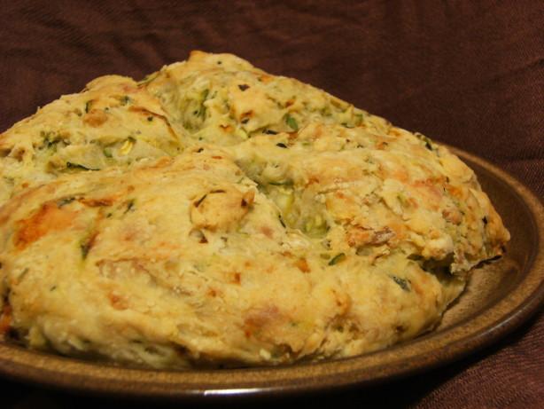 Garlic Zucchini Damper Bread Recipe Food Com