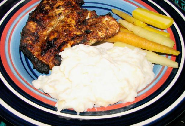 Creamy Cheesy Garlicky Mashed Potatoes Recipe - Food.com