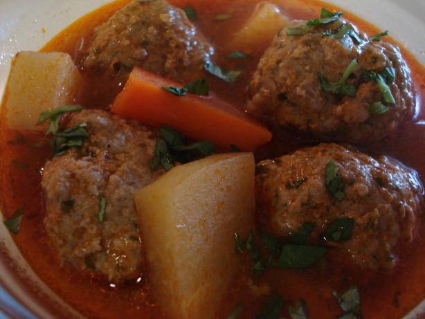 Authentic Sopa De Albondigas Meatball Soup) Recipe - Food.com