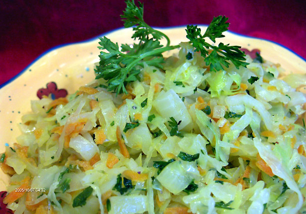 Braised Cabbage, Carrots And Onions Recipe - Food.com