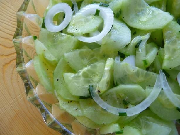Dressing Cucumber recipe pictures catalog photo