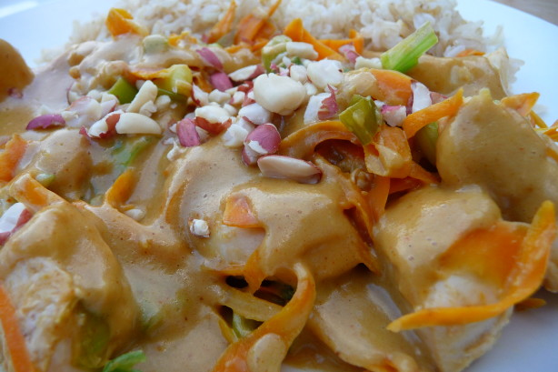 Thai Coconut Peanut Chicken Recipe - Food.com