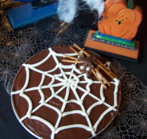 Spider Web Brownie Recipe Food Com