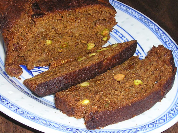 Cake Loaf Recipe Quick: Fig And Pistachio Loaf Cake Recipe