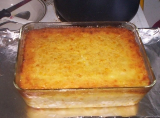 how to make corn pudding without sour cream