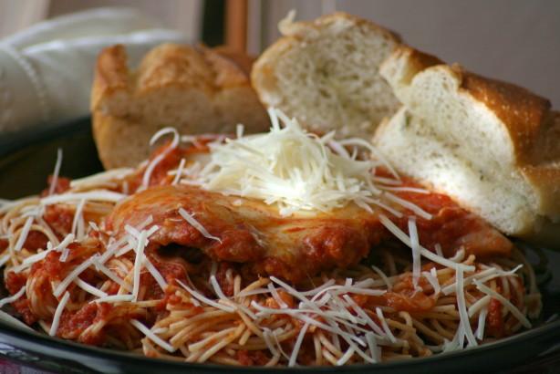 Skillet Parmesan Chicken Recipe - Food.com