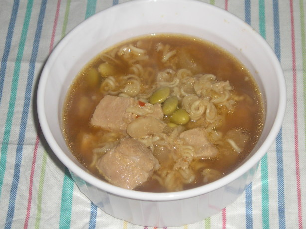 Pork And Edamame Soup Recipe - Food.com