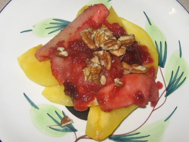 Baked Squash With Apples And Cranberries Recipe - Food.com