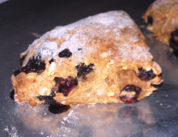 Easy Blueberry Almond Scones Recipe - Food.com