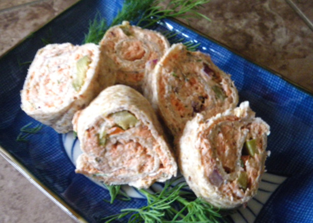 Smoked Salmon Roll-Ups Recipe - Food.com