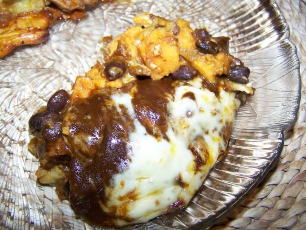 Sweet Potato And Black Bean Enchiladas Recipe - Food.com