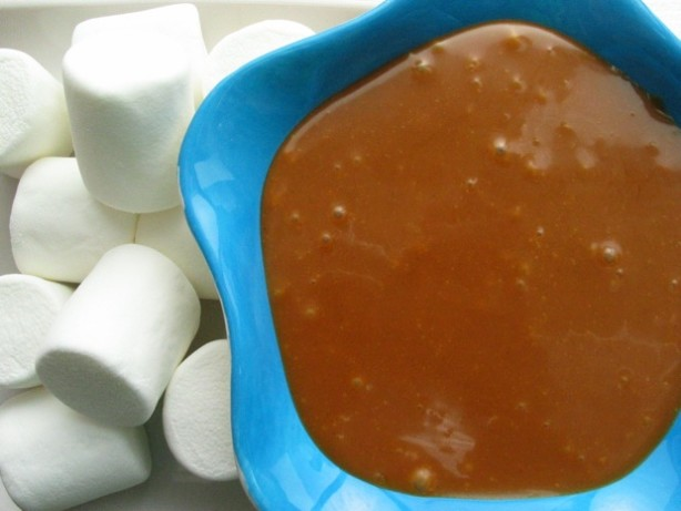 Warm Butterscotch Peanut Butter Fondue Dip Recipe - Food.com