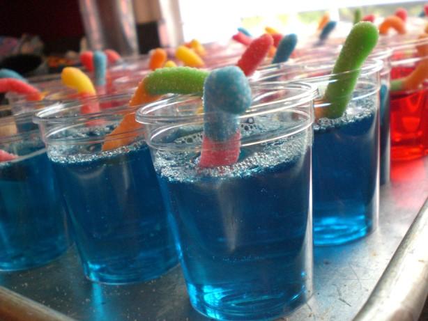 Halloween jello shots variety recipe for Easy shot recipes with vodka