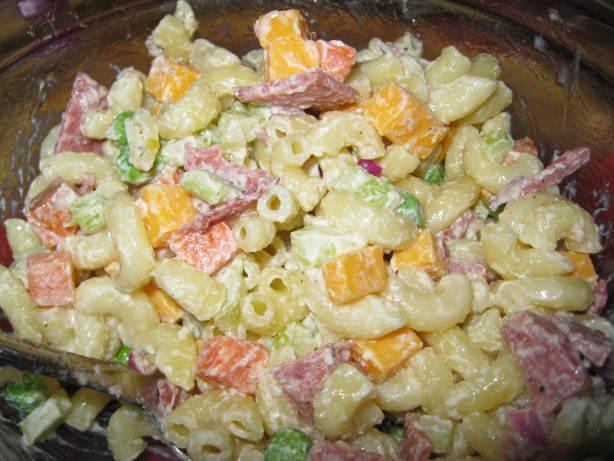 Macaroni Ham Salad Recipe Food Com