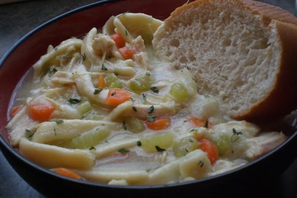 homemade egg noodles recipe  food