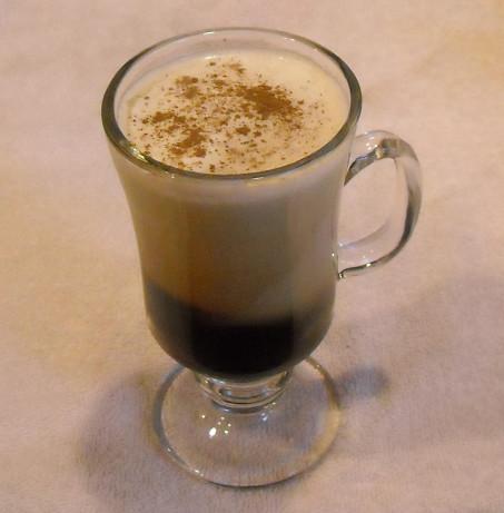 how to make cream float on irish coffee