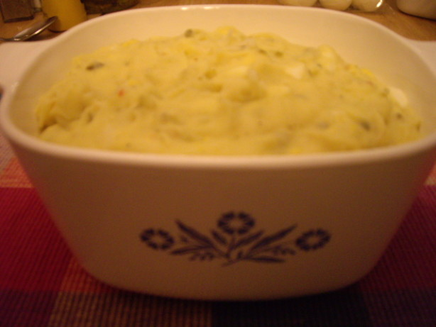 how to make mashed potatoe salad
