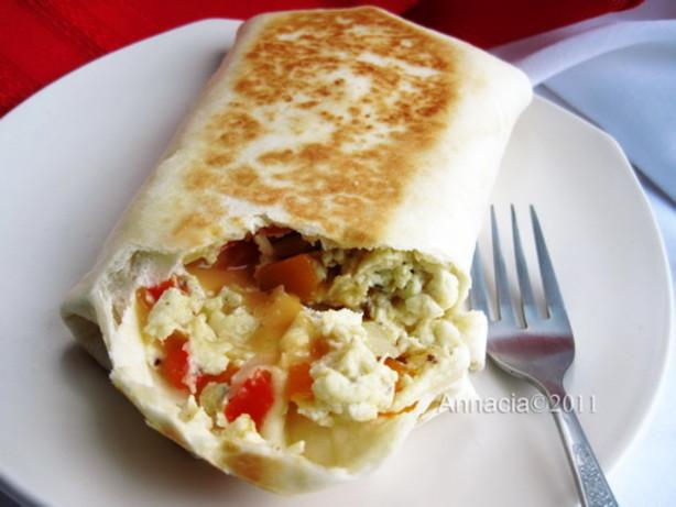 Scrambled Egg Wrap Recipe - Food.com