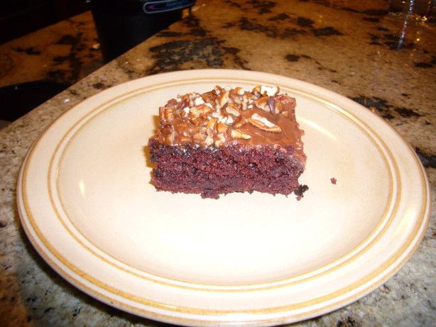 Cake In A Pan Recipes: Mix In The Pan Chocolate Cake Recipe