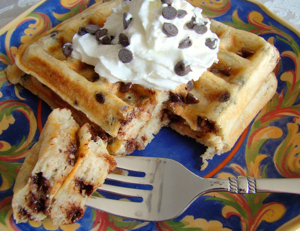 Chocolate Chip Waffles Recipe - Food.com