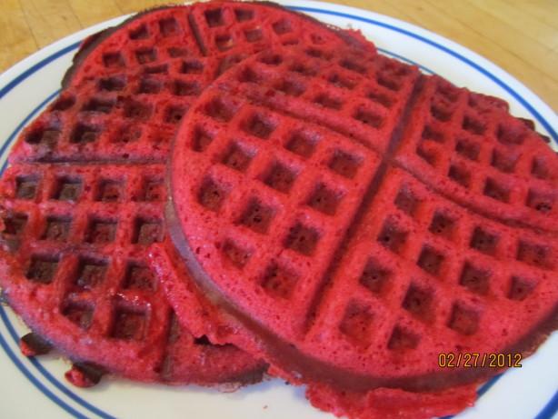 Red Velvet Waffles Food Network