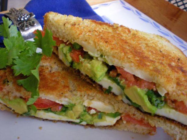 Avocado-Tomato Grilled Cheese Sandwich Recipe - Food.com