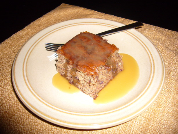 Date Pudding With Toffee Sauce Sticky Toffee Pudding) Recipe - Food ...