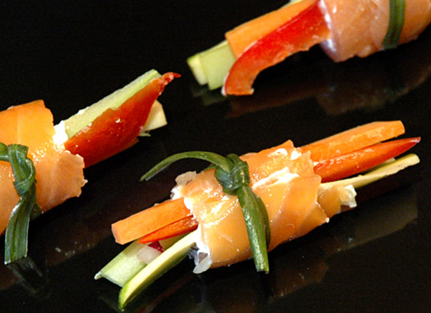 Smoked Salmon Roll Ups Recipe - Food.com