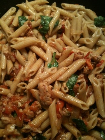 Fresh Tomato, Sausage, And Pecorino Pasta Recipe - Food.com