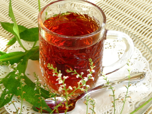 Cassis Blackcurrant) And Lemon Verbena Tea - Tisane - Infusion Recipe ...