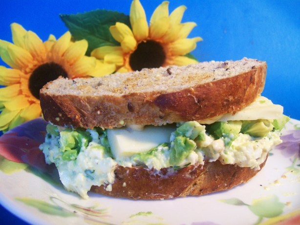 Chopped Egg And Avocado Sandwich Recipe - Food.com