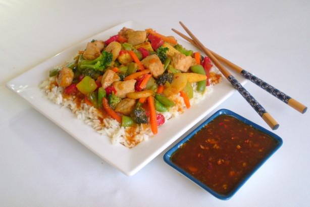 Spicy Peach Stir-Fry Sauce Recipe - Food.com