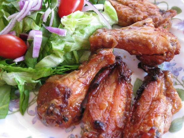 BBQ Chicken Wings Recipe (Jalan Alor Chicken Wings) Recipe ...