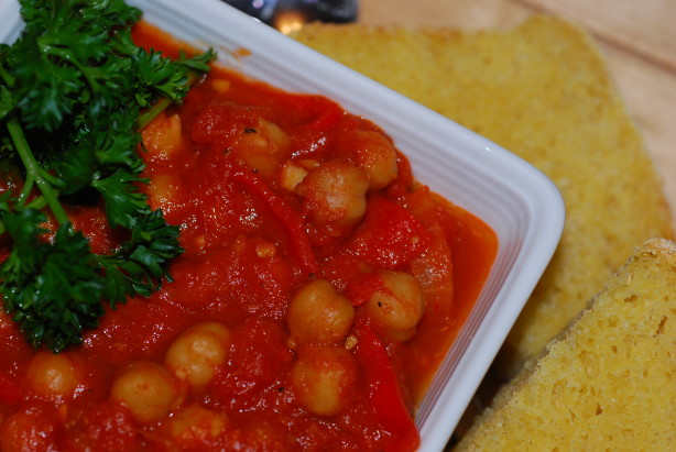 Spicy Tomato Chickpea Stew Recipe - Low-cholesterol.Food.com